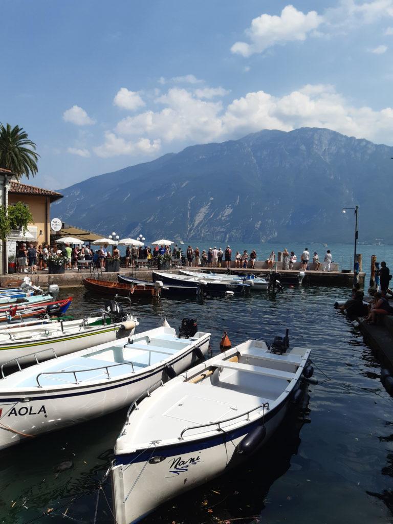 Alessia. Limone, Lago di Garda